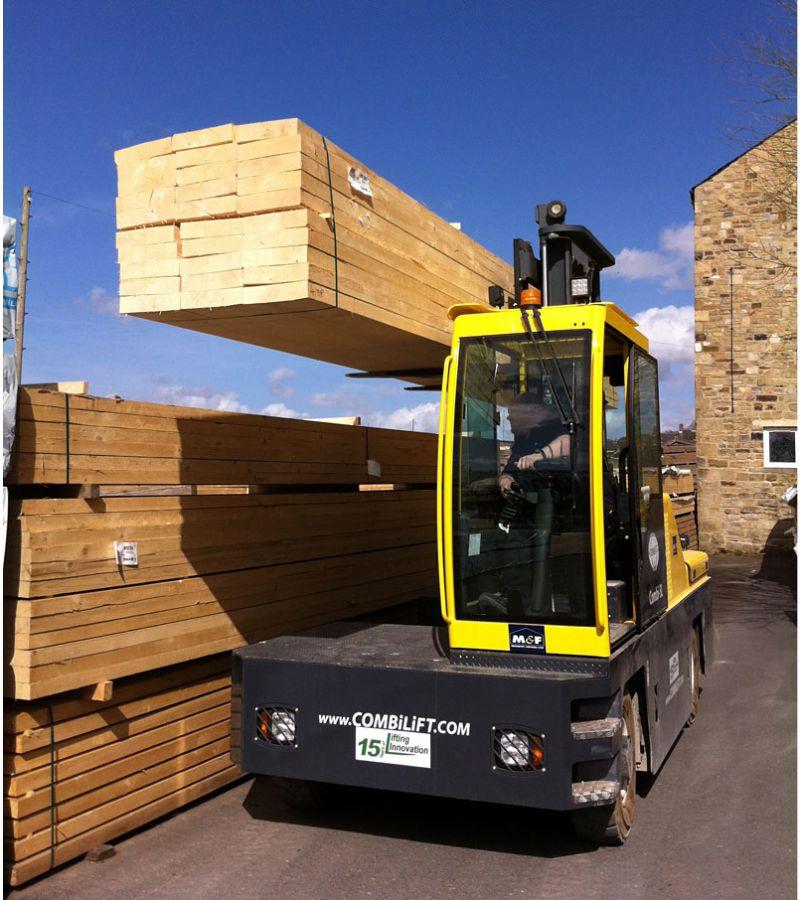 Holztransport Combilift