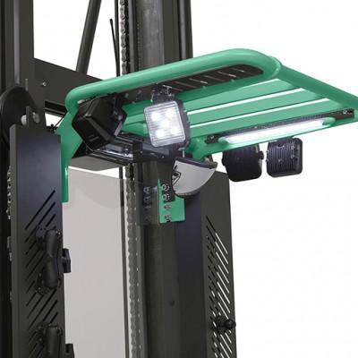 Lagertechnik von Mitsubishi Forklift Trucks