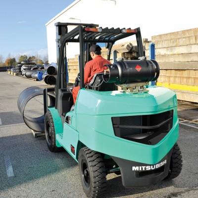 Treibgasstapler Mitsubishi Forklift Trucks